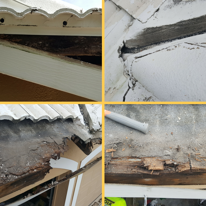 Repair Soffit, Fascia and Rotten Boards